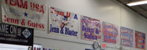 Jenn Crank's Agility Nationals Teams banners