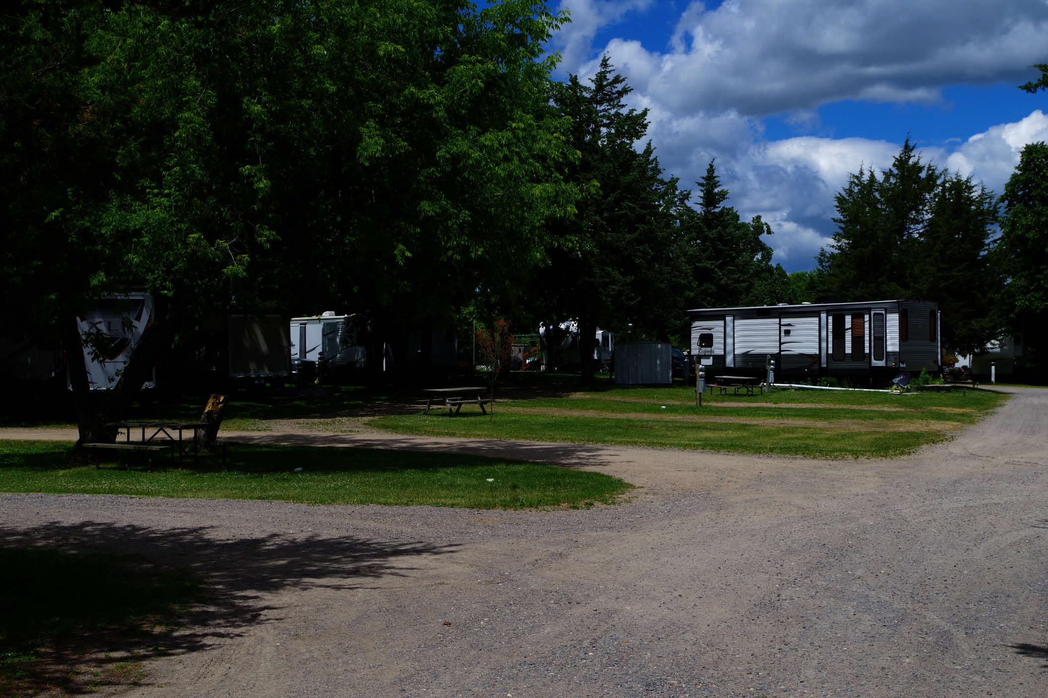 RV Site At St Cloud Clearwater Park