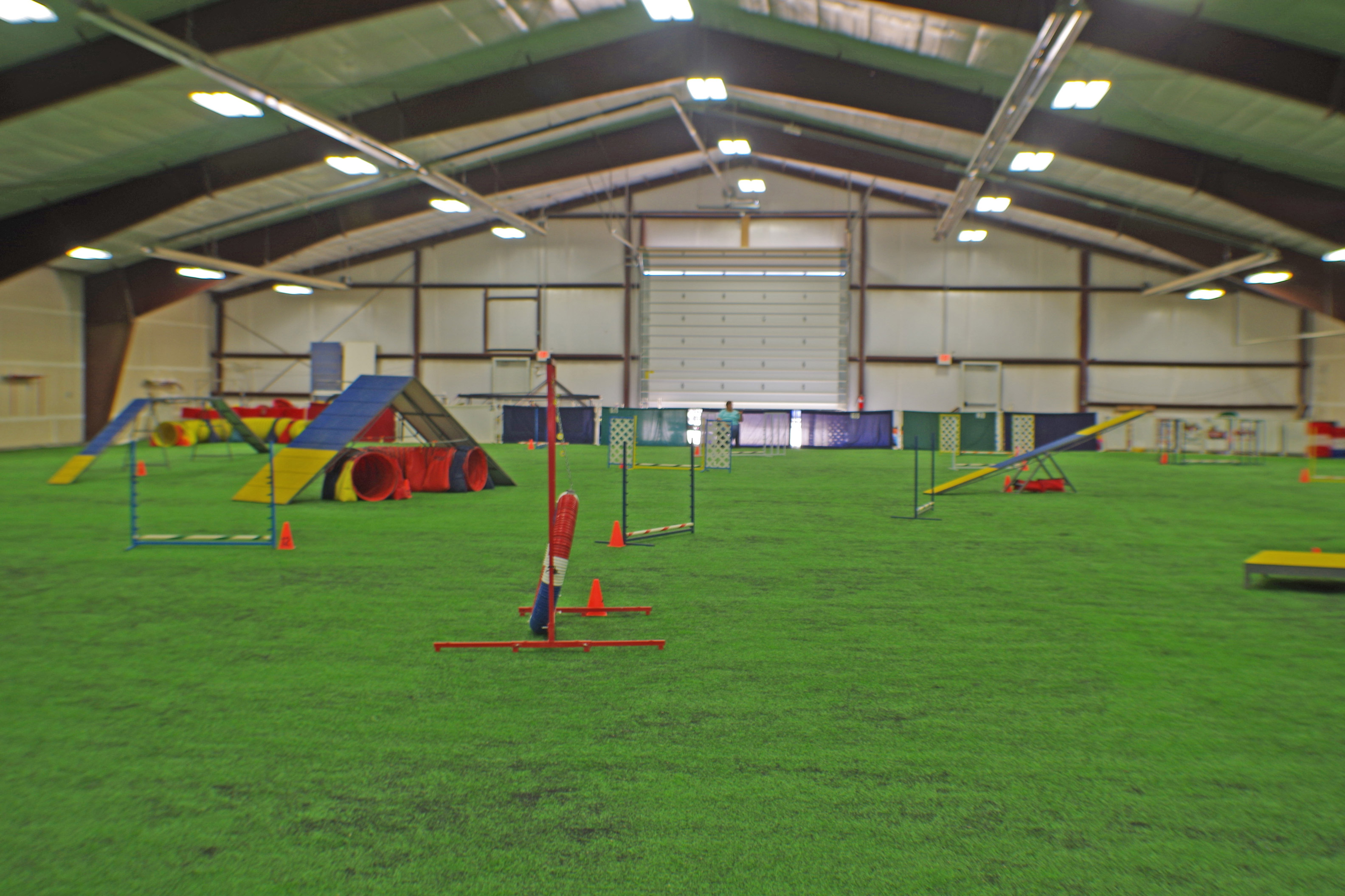 Agility Ring, Yellowstone Dog Sports, Roberts, MT