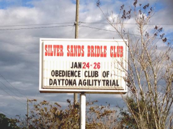 Silver Sands Bridle Club Dog Agility Trials