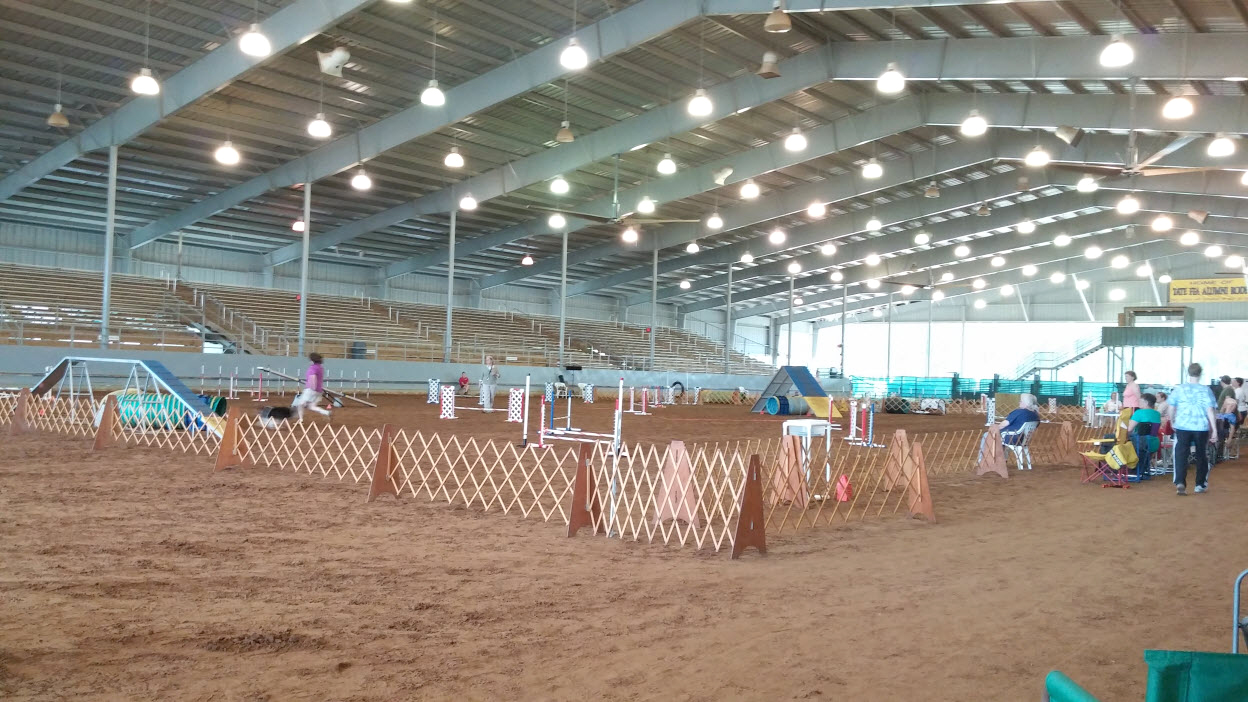 Agility Rings Escambia County Equestrian Center